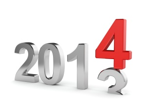 2014 New Year concept